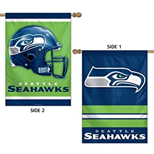 Seattle Seahawks Official NFL 28x40 Banner Flag by WinCraft