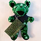 Grateful Dead Liquid Blue Reuben Capital Centre 8 Inch Shamrock Bear St. Patrick s Day