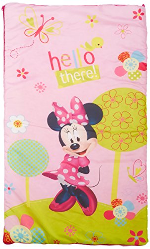 disney minnie mouse bowtique garden party slumber bag. Black Bedroom Furniture Sets. Home Design Ideas