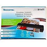 Pandigital 8.5 Inch x 11 Inch PANSCN06 BLACK Personal Photo Scanner