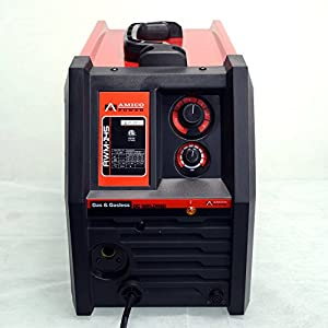 MIG 135 Amp Flux Core Wire Welding Soldering Machine 115V W/Accessories by Amico