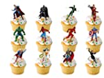 12 x LARGE Marvel Super Hero Superher...