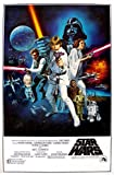 Star Wars Movie Poster 70s One Sheet Artwork 24x36 Poster Art Print