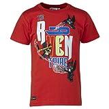 LEGO Wear Lego Chima Raven T Shirt Tristan 404 T Shirt Garçon Rouge ADVENTURE RED FR 4 ans Taille fabricant 104