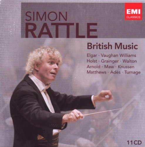 Simon Rattle: British Music by Edward Elgar,&#32;Ralph Vaughan Williams,&#32;William [composer] Walton,&#32;Gustav Holst and Colin [Composer] Matthews