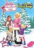 echange, troc Collectif - Livre de coloriage avec poster Barbie merveilleux Noël