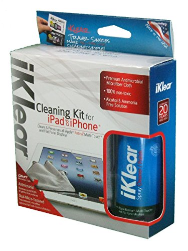 Iklear Ik-Ipad Cleaning Kit For Ipad/Iphone - Retail Packaging back-65092