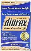 Diurex Water Capsules 21 Count
