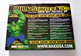 Marvel The Incredible Hulk Starter Kit - Game Boy Advance SP with Game Faces, Earphones, Charger, Game Cases - 8-in-1- Kit