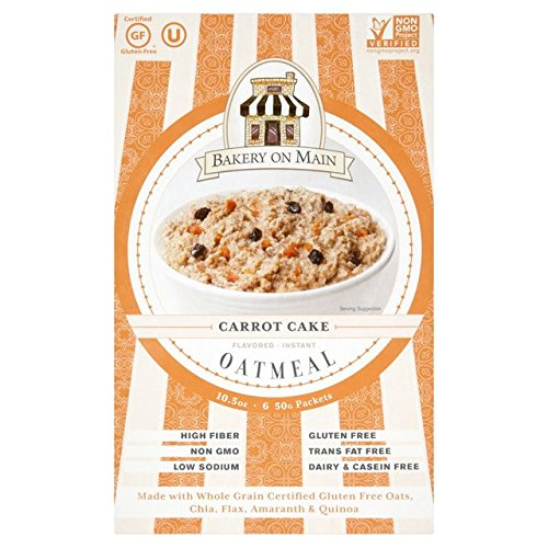 Bakery On Main Instant Oatmeal Carrot Cake 6 x 50g