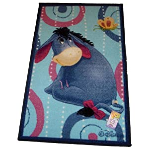 Eeyore From Disney Winnie The Pooh Tufted Rug from California Fashion Home Inc