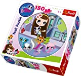 Trefl Round-Puzzle A Walk in The City Hasbro Littlest Pet Shop (150 Pieces)