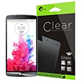 i-Blason LG G3 Screen Protector - [ Ultra-Thin 0.2 mm Tempered Glass ] Premium Minimal Bubble 8 H Scratch Free Screen Protector (Glass-uT)
