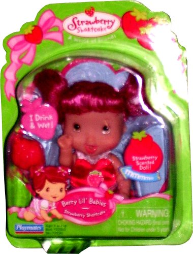 Buy Strawberry Shortcake Berry Lil' Babies ~ Strawberry Shortcake with Long Hair