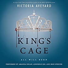 King's Cage Audiobook by Victoria Aveyard Narrated by To Be Announced