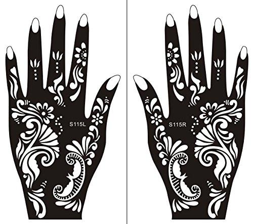 tatouages pochoir pailletes. Black Bedroom Furniture Sets. Home Design Ideas
