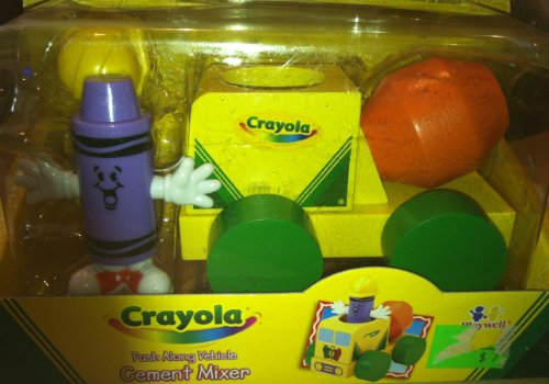 Crayola Push Along Vehicle Cement Mixer - 1