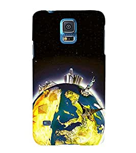 printtech Wonders of World Back Case Cover for Samsung Galaxy S5 G900i::Samsung Galaxy S5 i9600::Samsung Galaxy S5 G900F