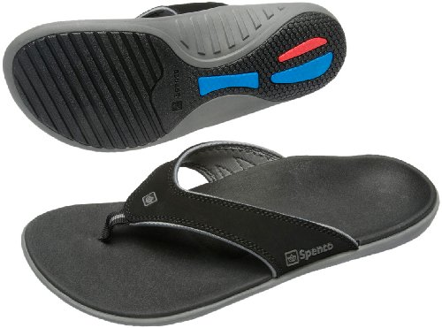 Spenco Polysorb Support Sandals Pewter