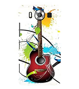 A Class Guitar Voilin Cute Fashion 3D Hard Polycarbonate Designer Back Case Cover for Microsoft Lumia 950 :: Nokia Lumia 950