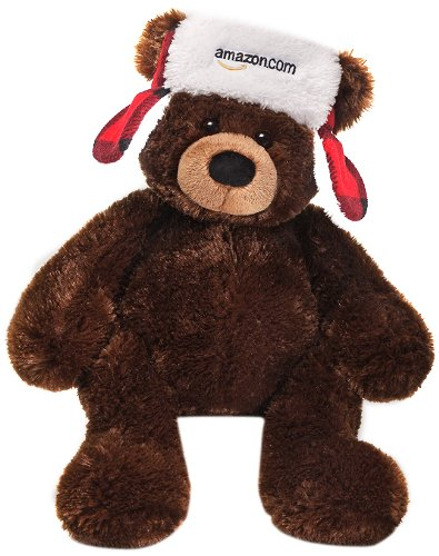 Gund 2013 Amazon Collectible Bear Plush front-803842