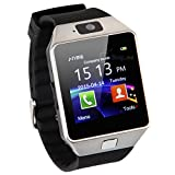 Buyee® DZ09 Bluetooth Smartwatch Handy-Uhr für Smartphone Samsung iphone HTC Android Phone with Kamera SIM weiß