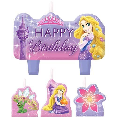 Rapunzel Mini Molded Candles 4ct - 1