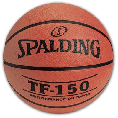 Spalding TF-150 Outdoor Basketball, 29.5-Inch