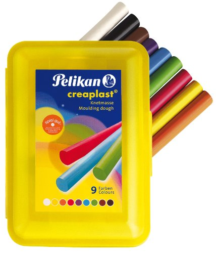 pelikan-619908-kinderknete-creaplast-198-14-14-stangen-330-gramm-gelbe-box
