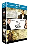 echange, troc Coffret Blu-ray Brad Pitt : Mr and Mrs. Smith, Troie, L'assassinat de Jesse James [Blu-ray]