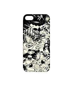 Vogueshell Music Band Printed Symmetry PRO Series Hard Back Case for Apple iPhone 5