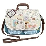 Disaster Designs Bon Voyage Satchel Style Shoulder Bag