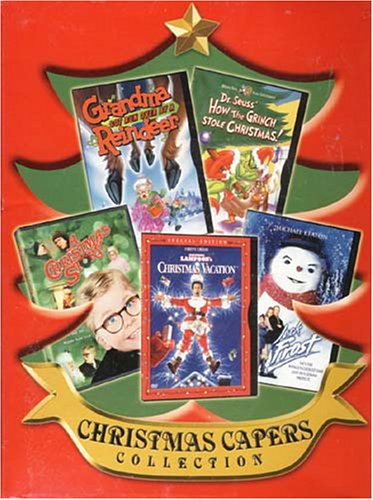 Christmas Capers Collection - A Christmas Story / National Lampoon's Christmas Vacation / Grandma Got Run Over By a Reindeer /Dr. seuss How The Grinch Stole Christmas /Jack Frost