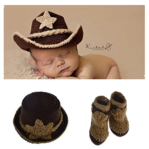 0-1 Year Old Baby Kids Photography Crochet Beanies Hats and Skirt Outfits