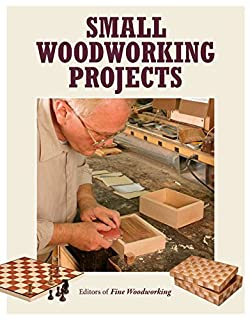 Book Cover: Small Woodworking Projects