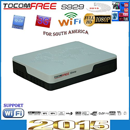Lowest Price! Tocomfree S929 Free Iks&sks Satellite Decoder
