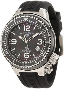 Swiss Legend SL-11844-BKBSA - Reloj de pulsera mujer, silicona, color negro