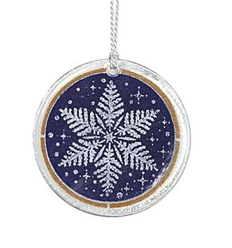 #!Cheap Peggy Karr Handmade Art Glass Ornament