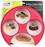 Meal Measure - Manage Your Weight, One Portion At a Time - 2 Pack, Red