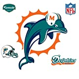 Miami Dolphins Logo Vinyl Wall Graphic Decal Sticker