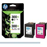 HP No300XL Long Life Ink Pack - Black/Colour