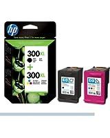 HP Cartouches d'encre 300Xl Noir/300Xl Couleur
