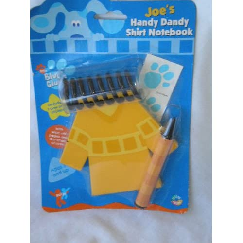 The Gallery For Gt Blues Clues Notebook Joe Shirt