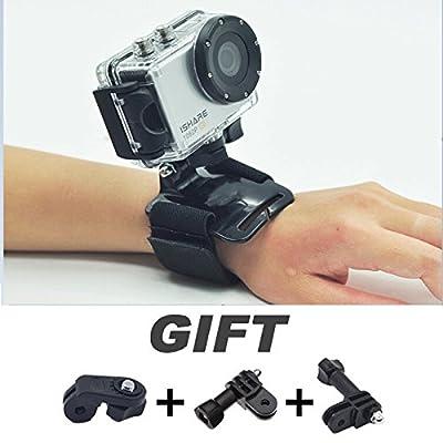 Hand Strap Sling Belt Strap for Sports Cameras Black
