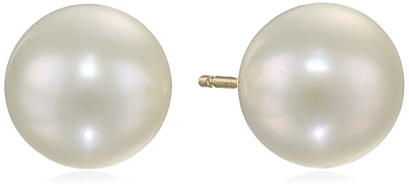 14k-Yellow-Gold-8-9mm-White-Freshwater-Cultured-AA-Quality-Pearl-Earrings