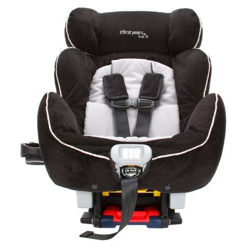 convertible car seat the first years true fit c670 premier convertible car seat geo black. Black Bedroom Furniture Sets. Home Design Ideas