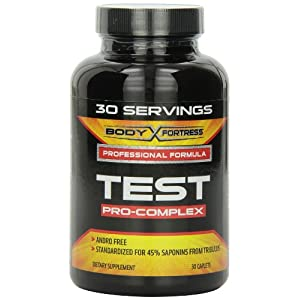 Body Fortress Test Pro-Complex Nutritional Supplement, 30 Servings, 30 Count images
