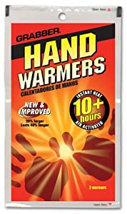 Hand Warmers (40 count) by Grabber