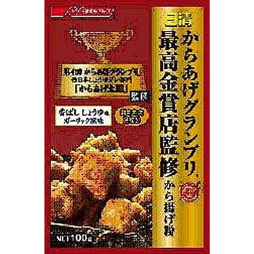 닛신 그랑프리 최고 금상 닭튀김 카라아게 튀김가루 향기로운 간장맛 마늘향 100g×8개