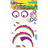TRUNKI TRUNKISAURUS DINO GIRL CUSTOMISING FACIAL EXPRESSIONS KIDS ACTIVITY FUN PACK - CHILDRENS CHRISTMAS GIFT STOCKING FILLER